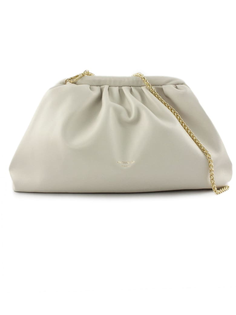 Avenue 67 Puffy Bag In White Leather - Panna