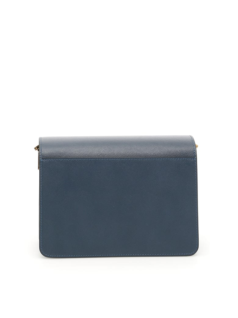 Marni Trunk Medium Bag - Blu