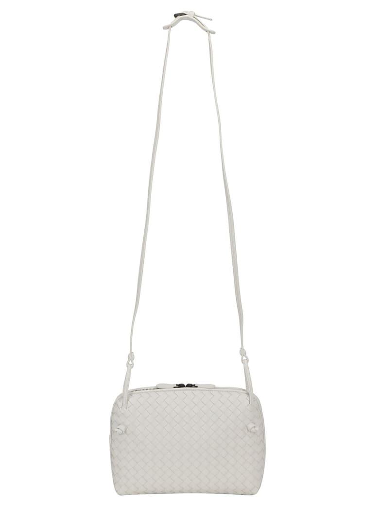 Bottega Veneta Leather Shoulder Bag - Bianco/brunito