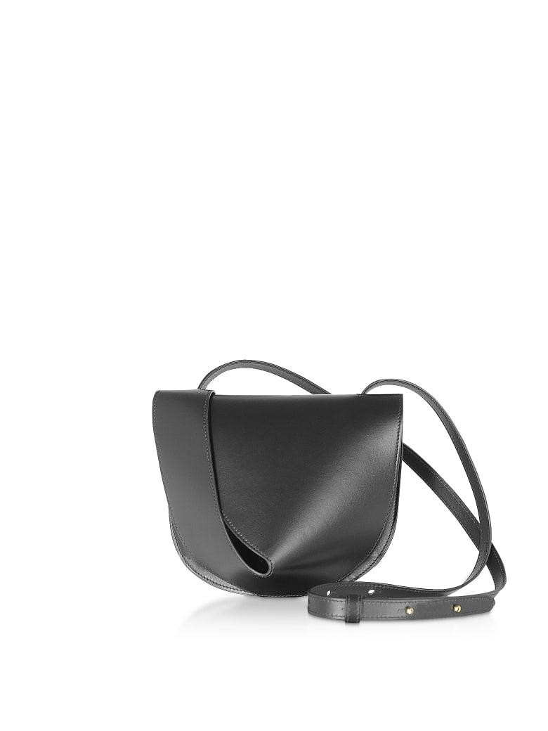Giaquinto Candy Saddle Shoulder Bag - Black