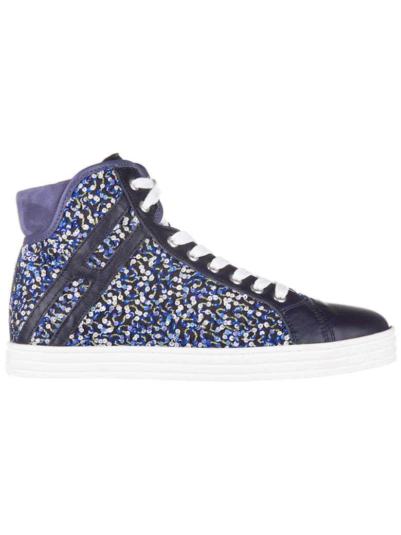 Hogan Rebel R182 High-top Sneakers - Viola