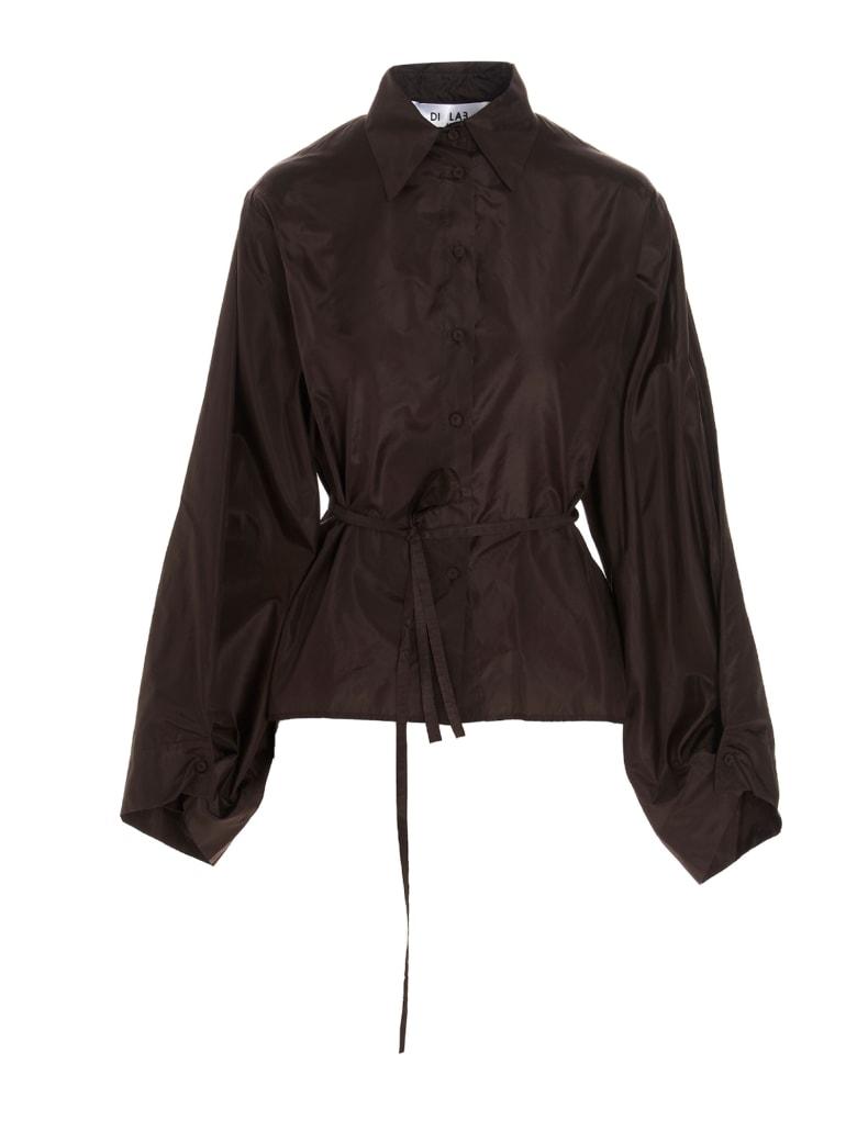 Di.La3 Pari' Shirt - Brown