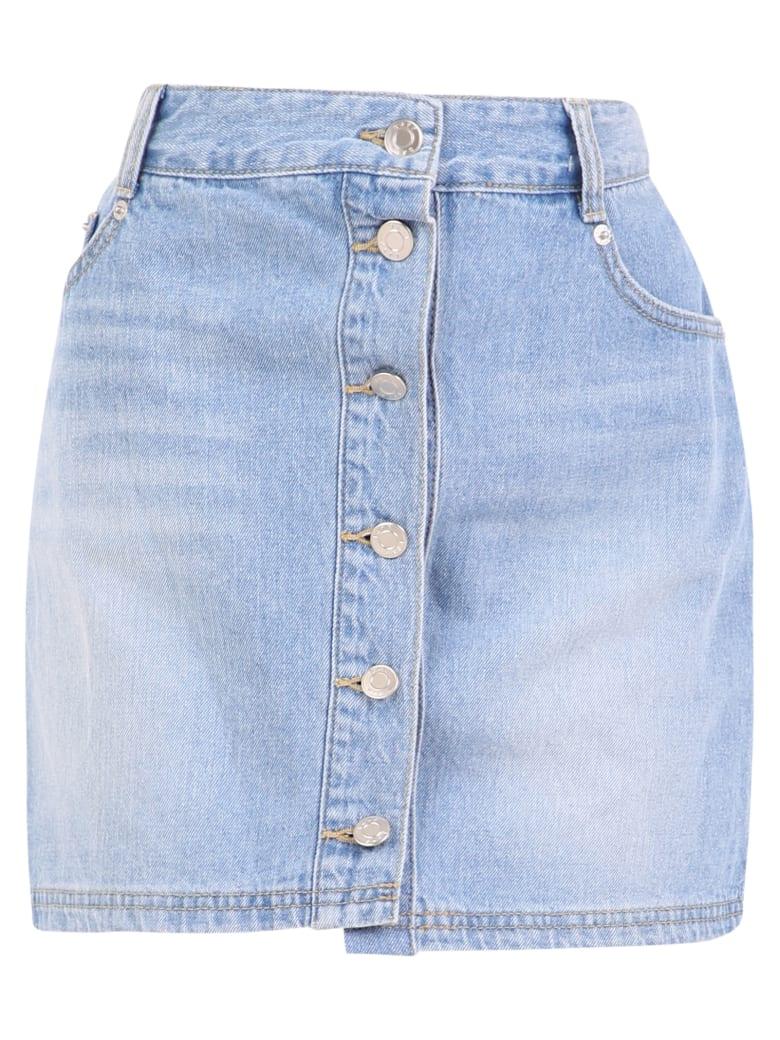 SJYP Layered Skirt - Blue