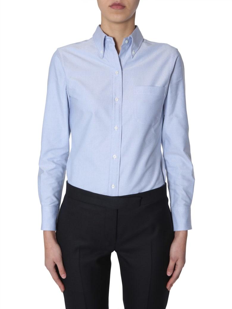 Thom Browne Button Down Shirt - BLU