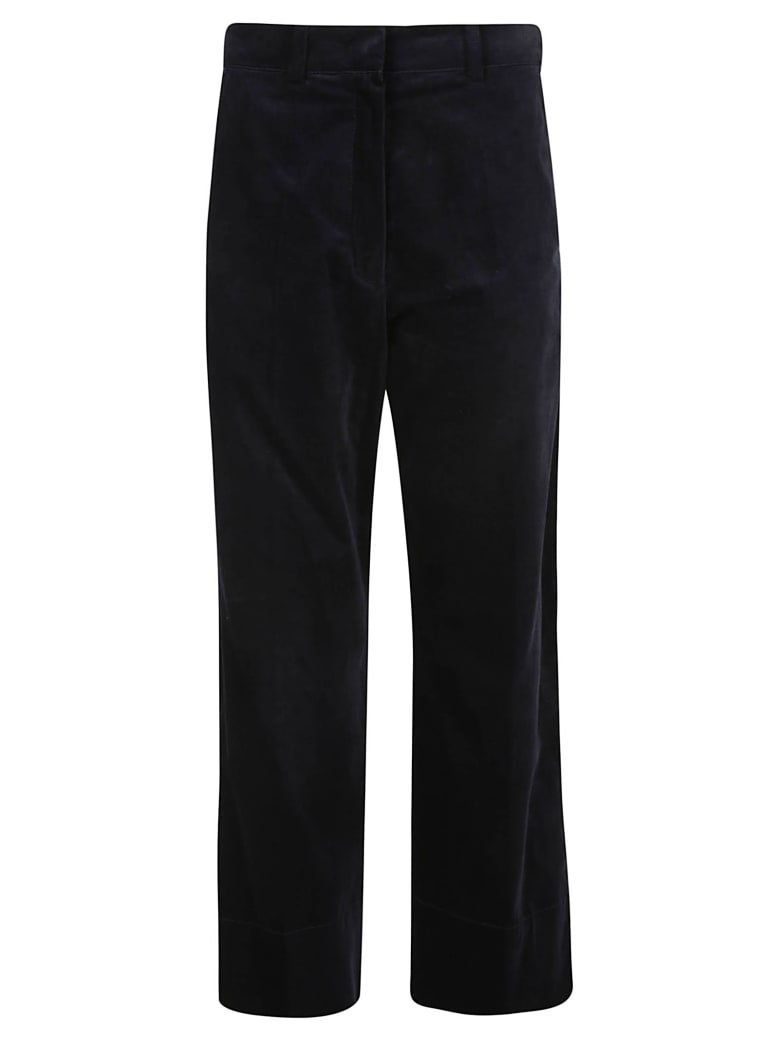 SportMax Wide Leg Fit Trousers - Black