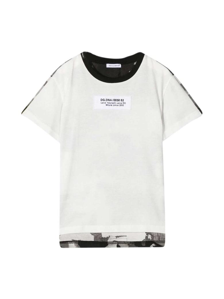 Dolce & Gabbana White T-shirt - WHITE