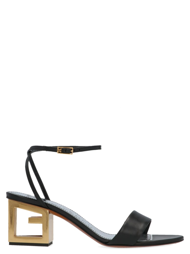 Givenchy 'triangle' Shoes - Black