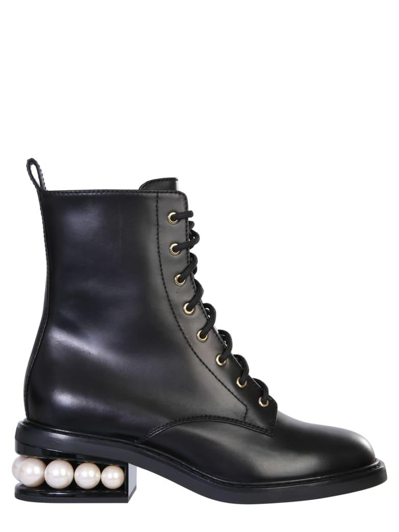 Nicholas Kirkwood Casati Combat Boots - NERO