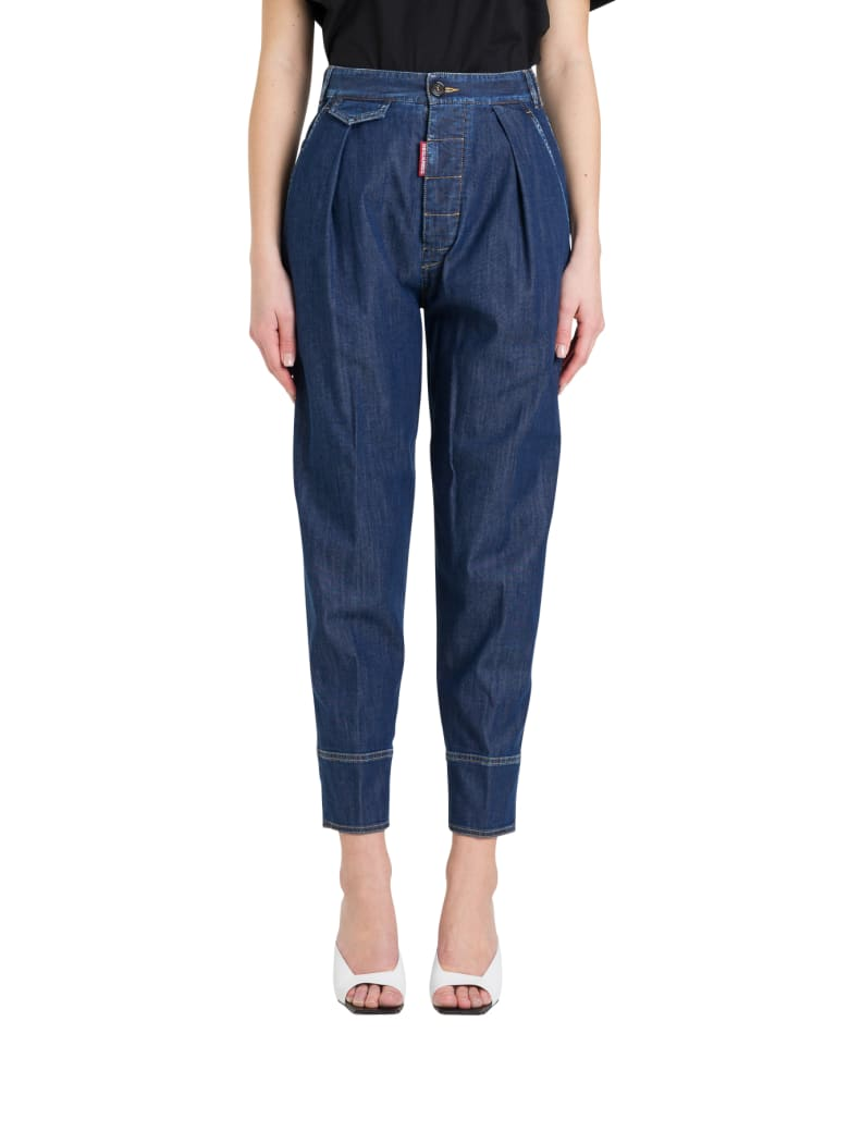 Dsquared2 High-rise Carrot Jeans - 470