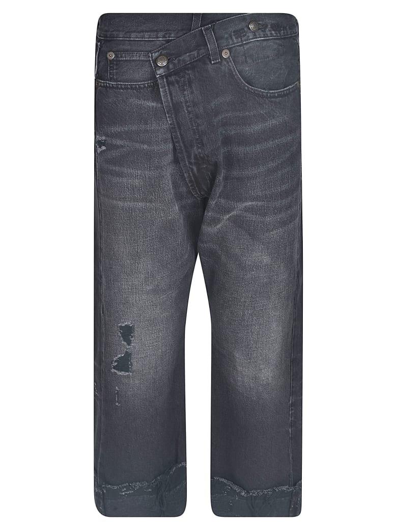 R13 Cross Over Jeans - Black