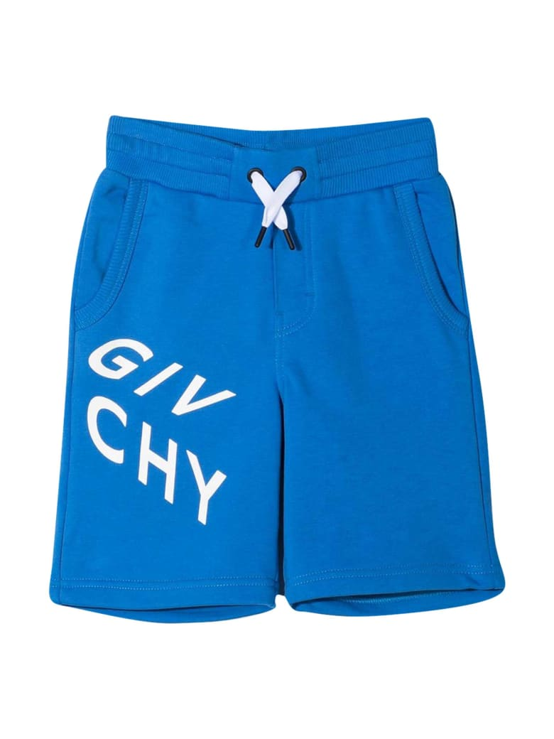 Givenchy Blue Bermuda Shorts - Blu