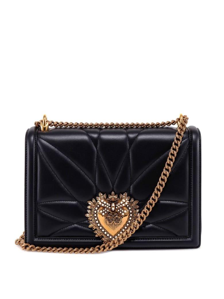Dolce & Gabbana Devotion Shoulder Bag - Black