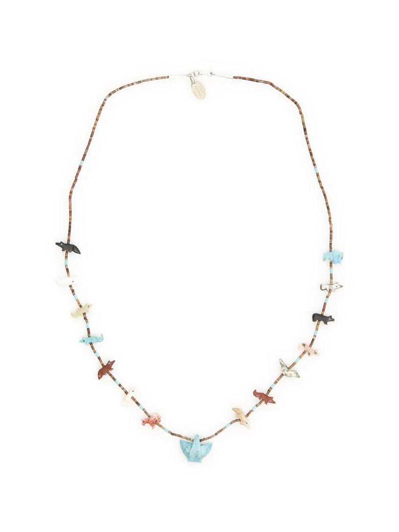 Jessie Western Paem Necklace - MULTICOLOR (Brown)