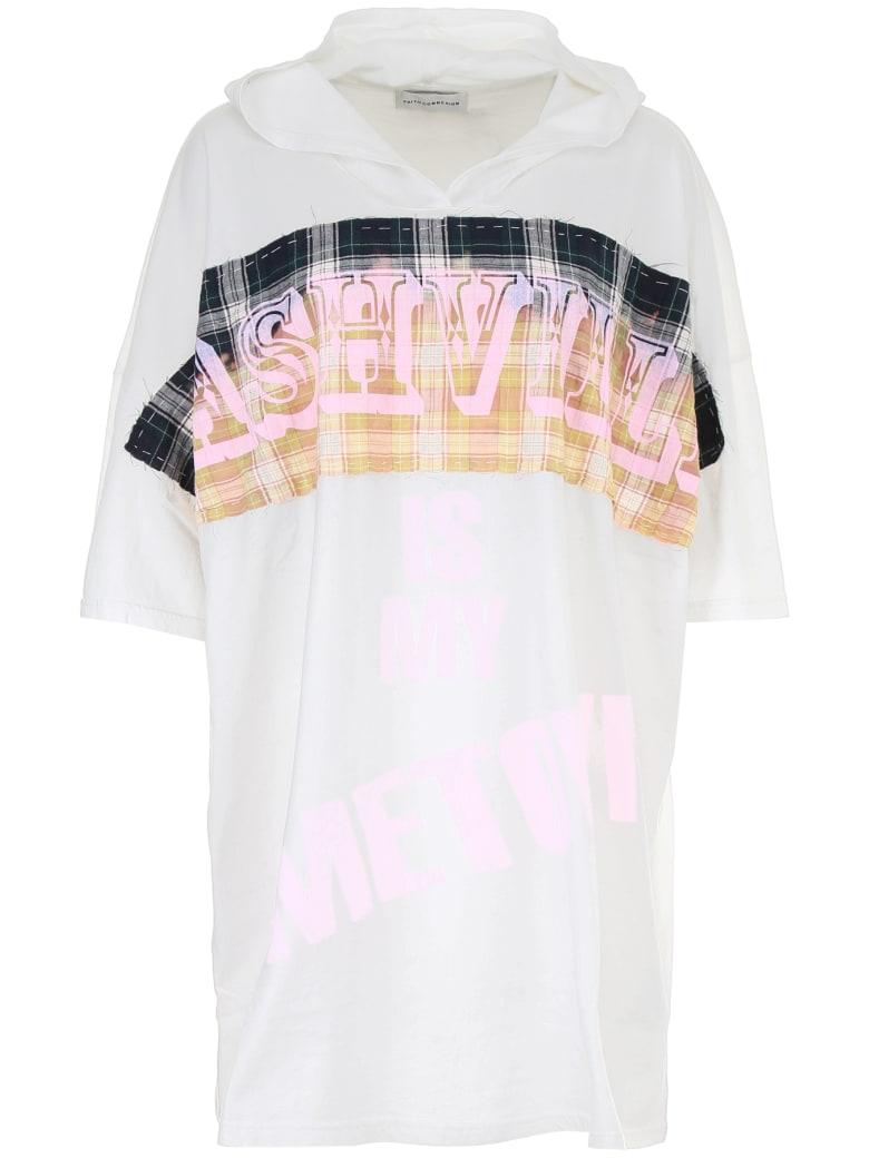 Faith Connexion Oversize Printed T-shirt - WHITE (White)