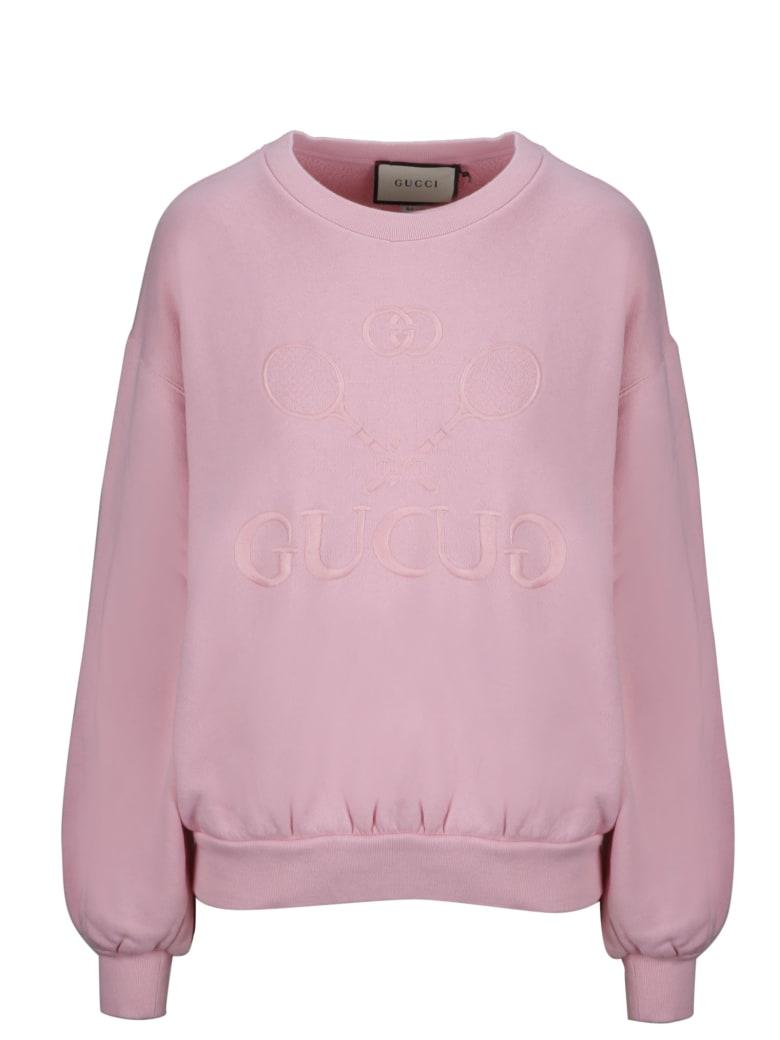 Gucci Fleece - Pink & Purple