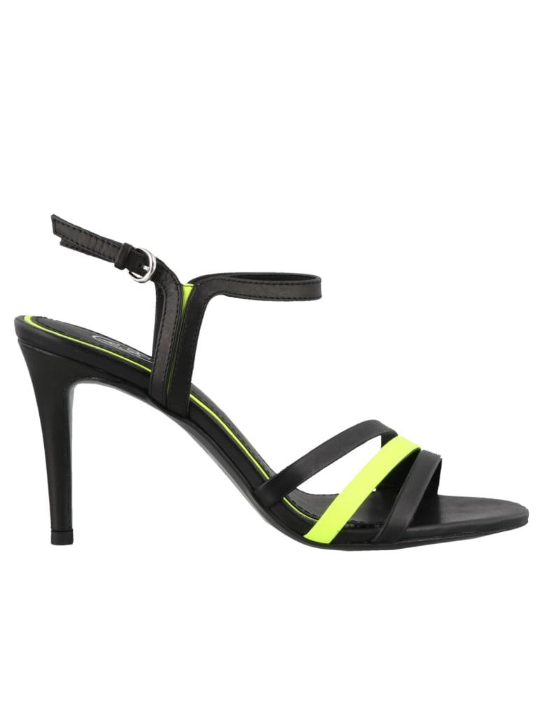 Ash Hello Pump Sandals - Black