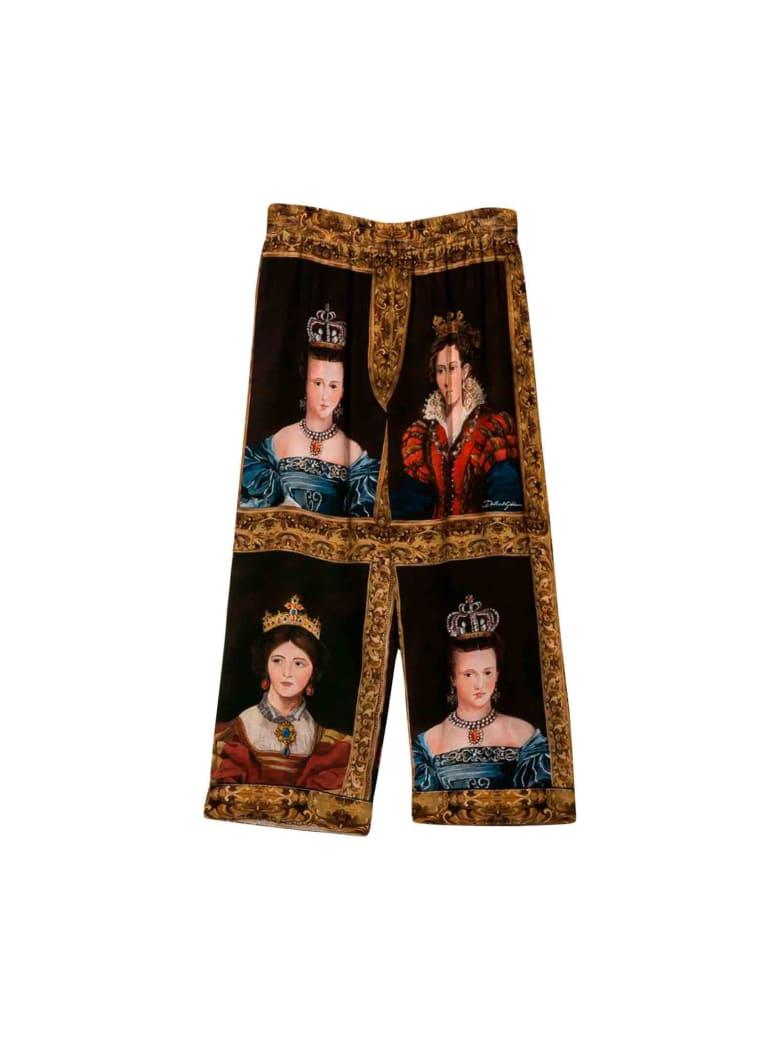 Dolce & Gabbana Dolce And Gabbana Kids Pants - Unica