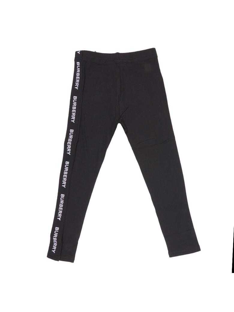 Burberry Krista Logo Jersey Trousers - Black