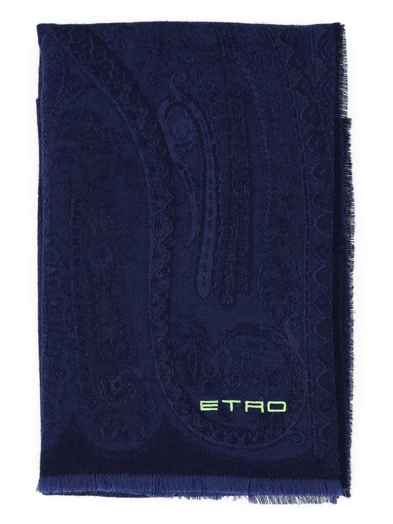 Etro Scarf - Blue