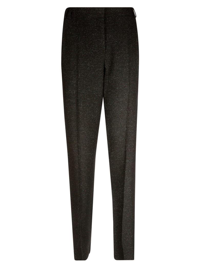 Emporio Armani Glitter Applique Trousers - Nero