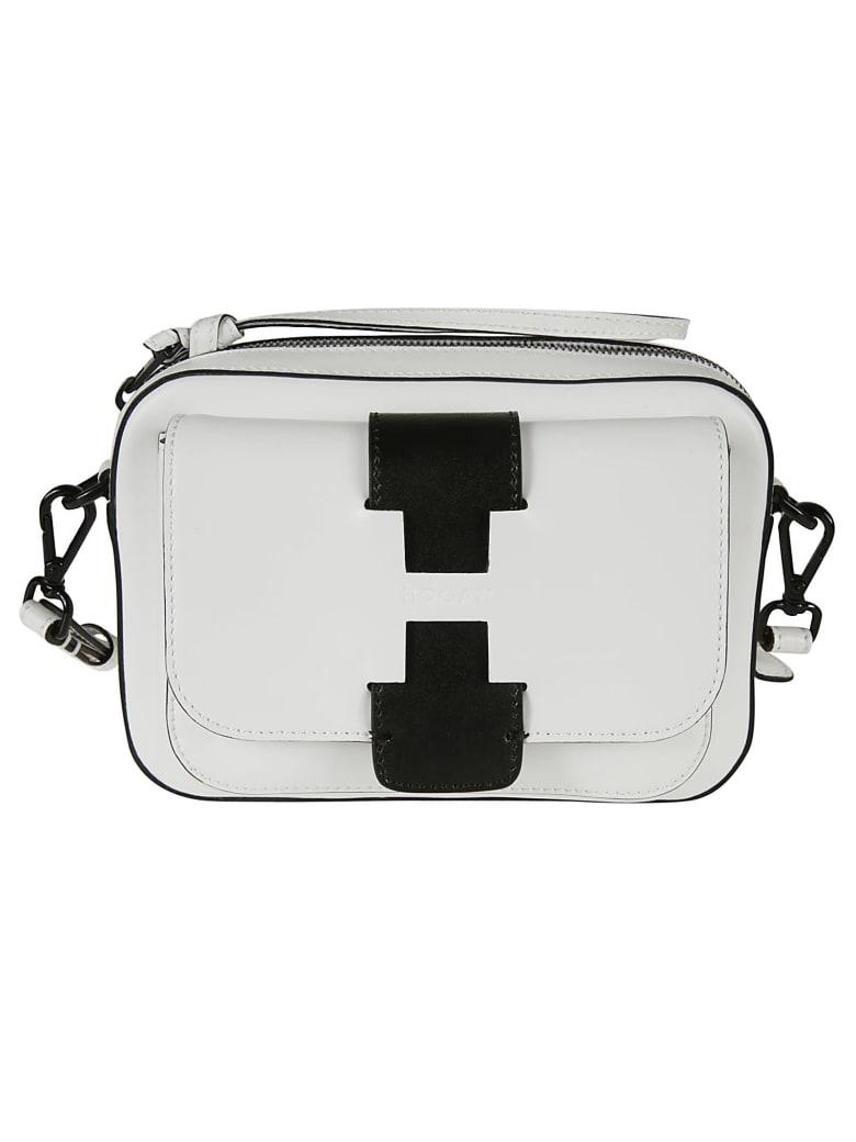 Hogan Basic Maxi Shoulder Bag - white