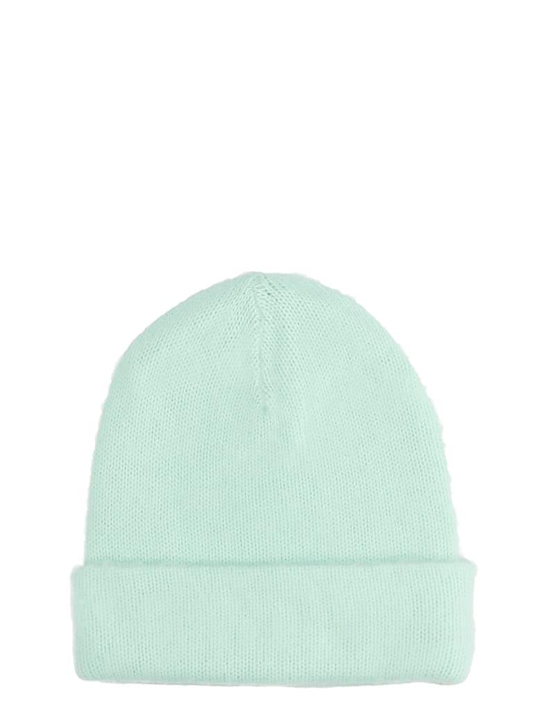 Acne Studios Peele Beanie Hats In Green Wool - green