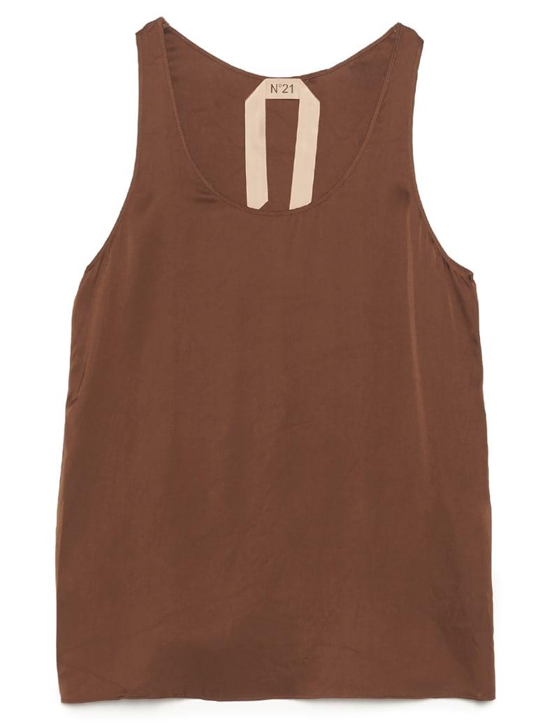 N.21 Top - Brown