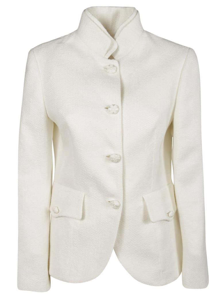 Ermanno Scervino Single Breasted Blazer - white