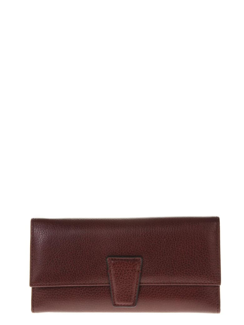 Gianni Chiarini Merlot Leather Wallet - Merlot