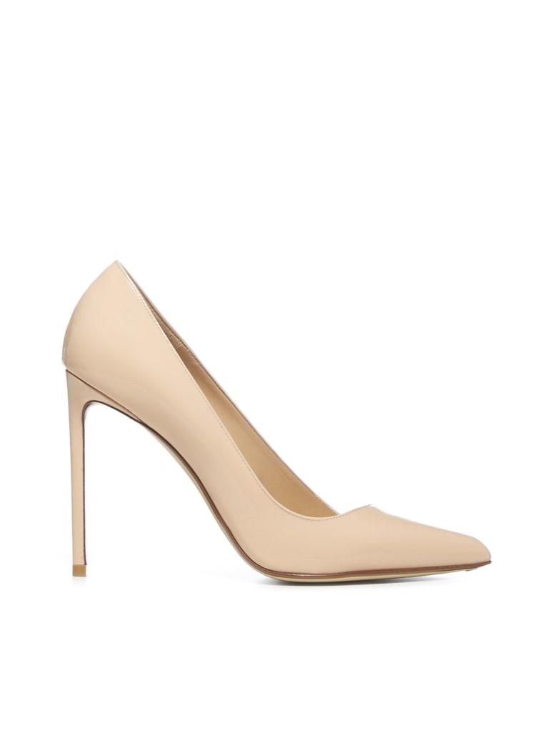 Francesco Russo 105 Mm High-heeled Shoe - Nude