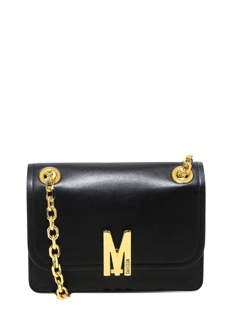 Moschino Shoulder Bag - Black