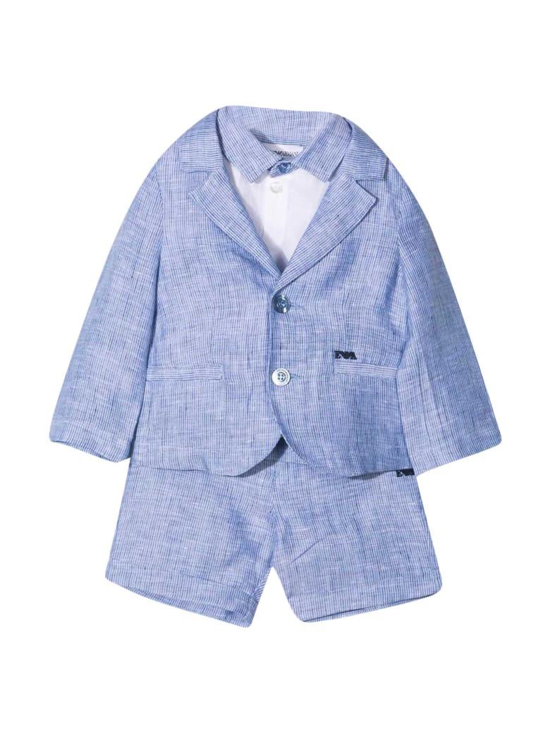 Emporio Armani Light Blue Suit - Azzurro/blu