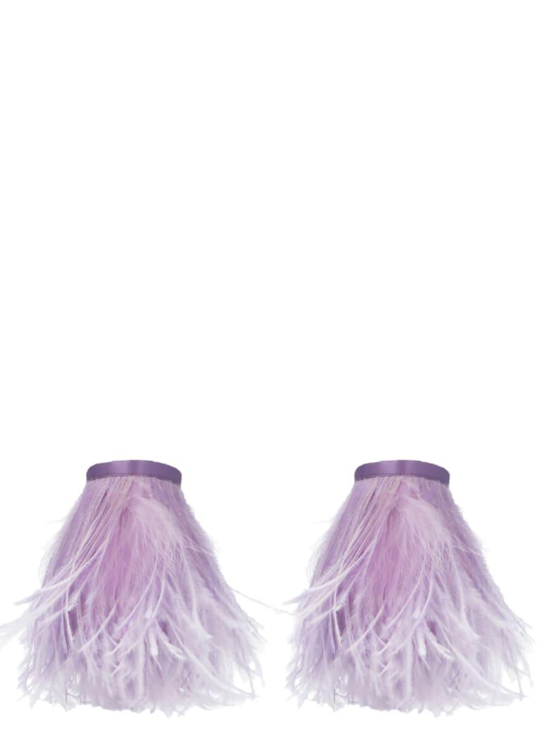 The Attico Anklet/bracelet - Purple