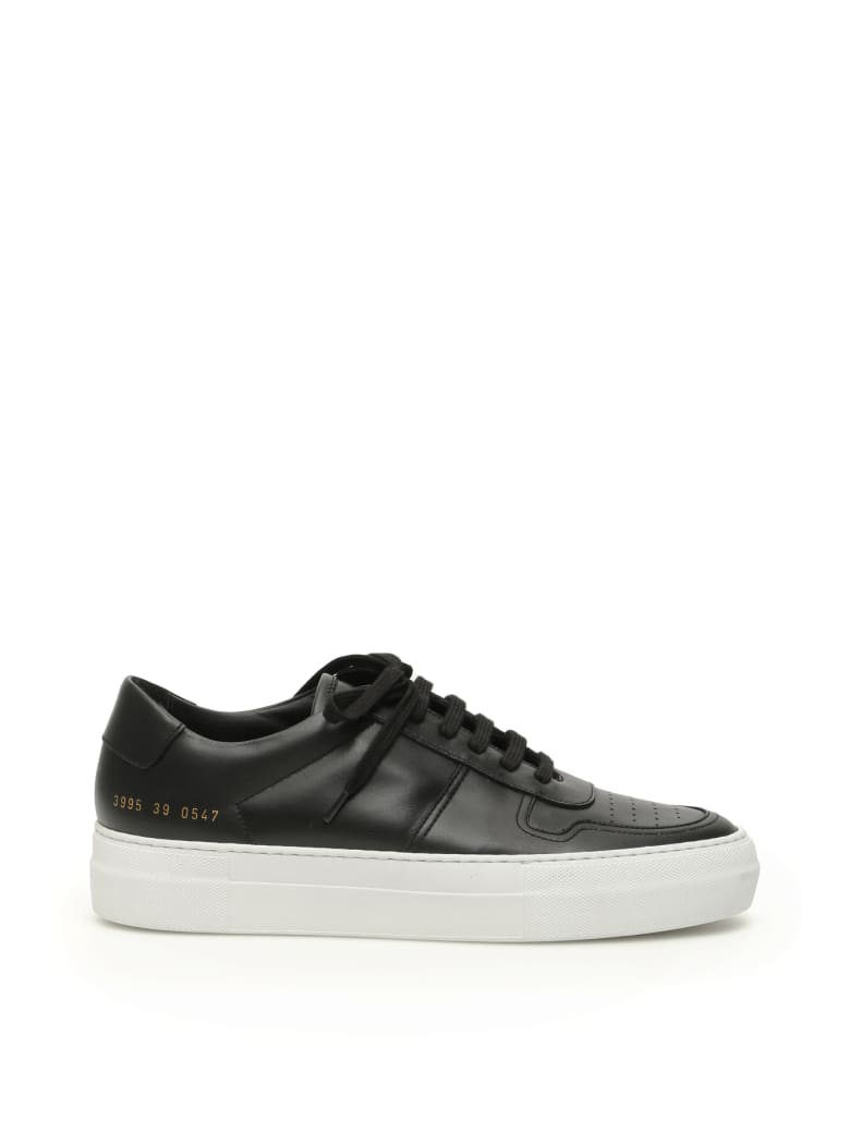 Common Projects Bball Low Super Sole Sneakers - BLACK WHITE (White)