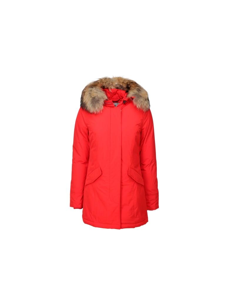 Woolrich Luxury Artic Parka - Red