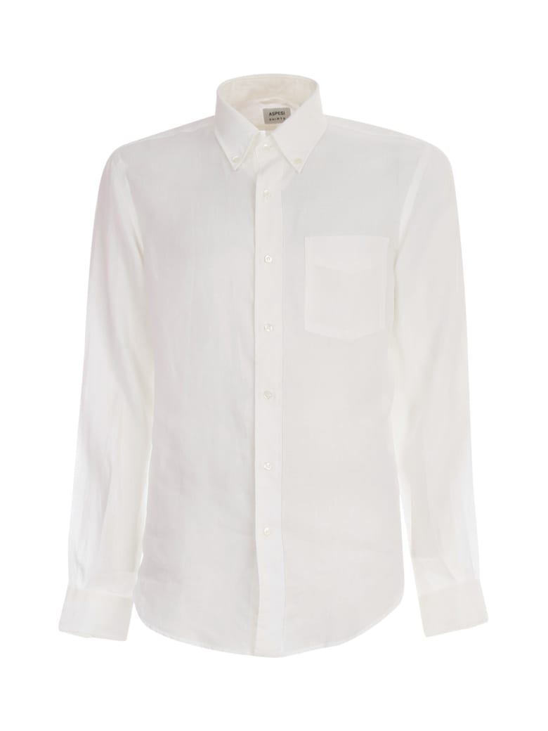 Aspesi Classic Shirt - Bianco