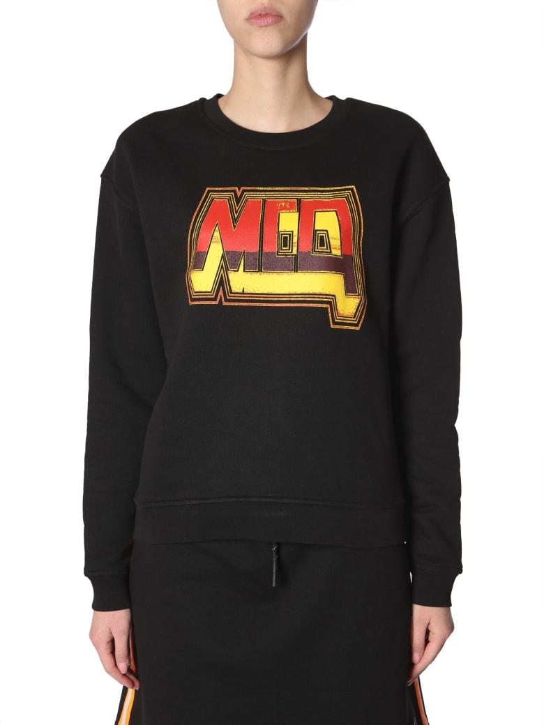 McQ Alexander McQueen Crew Neck Sweatshirt - NERO