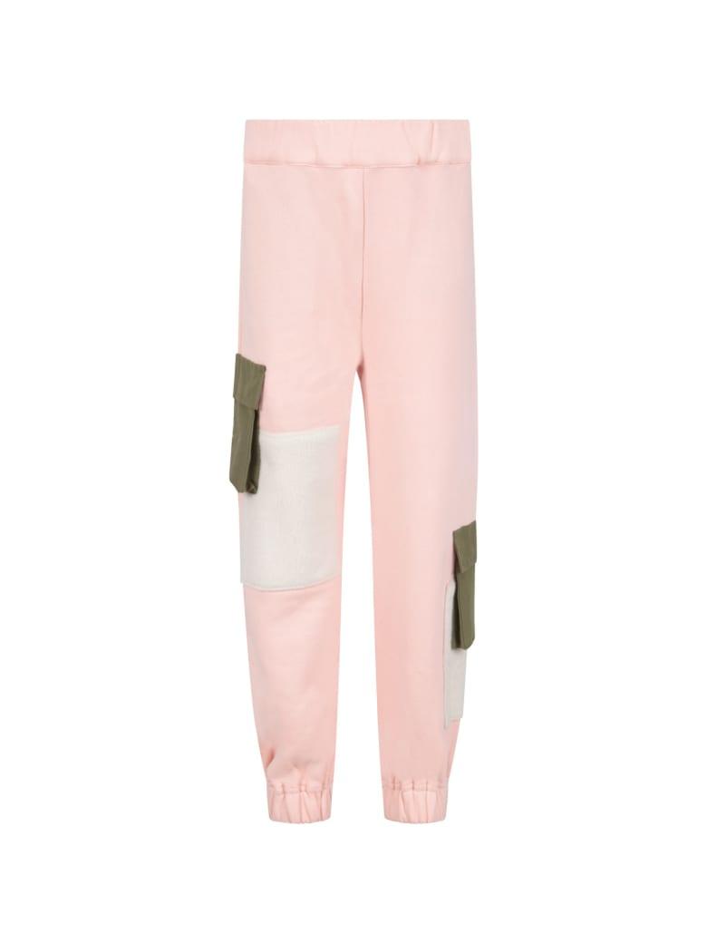 Owa Yurika Pink ''iori'' Sweatpants For Girl - Pink