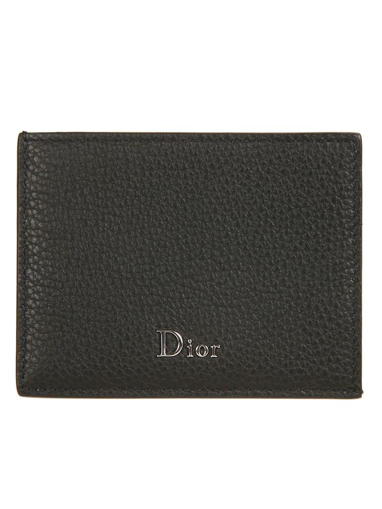 Christian Dior Logo Plaque Cardholder by Christian Dior
