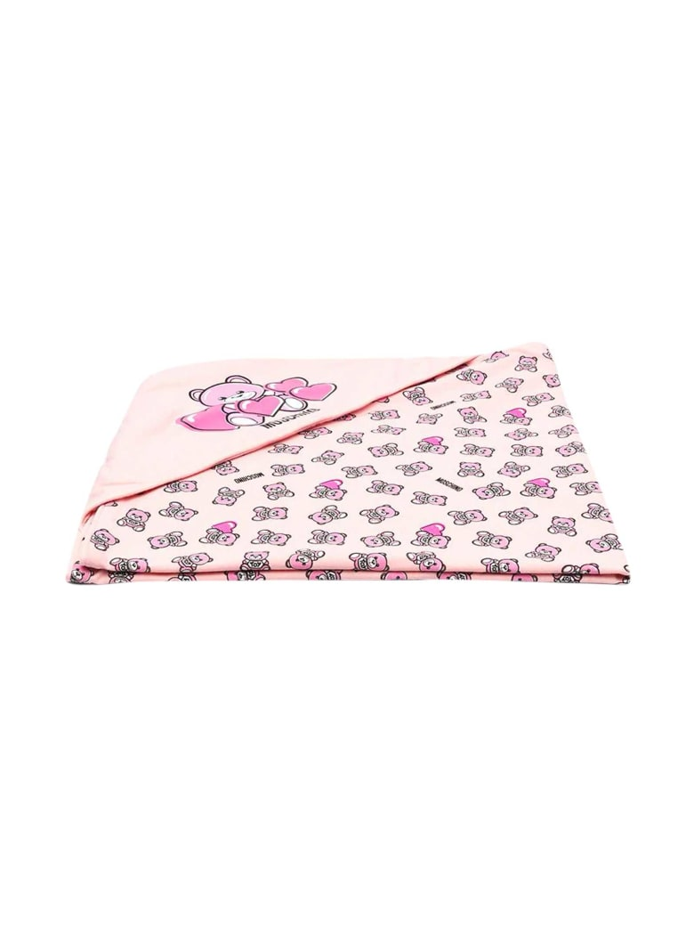 Moschino Pink Blanket - Rosa