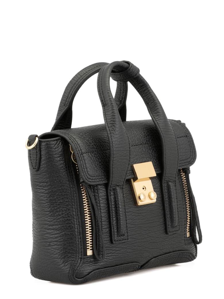 3.1 Phillip Lim Pebbled Leather Bag - Nero