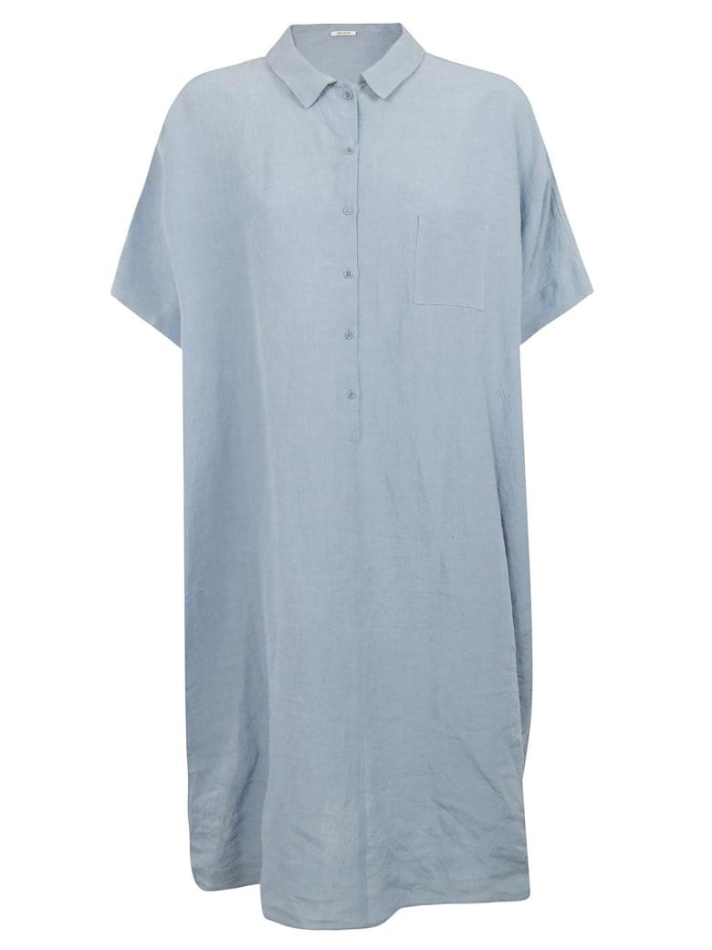 A Punto B Button-up Dress - Light blue