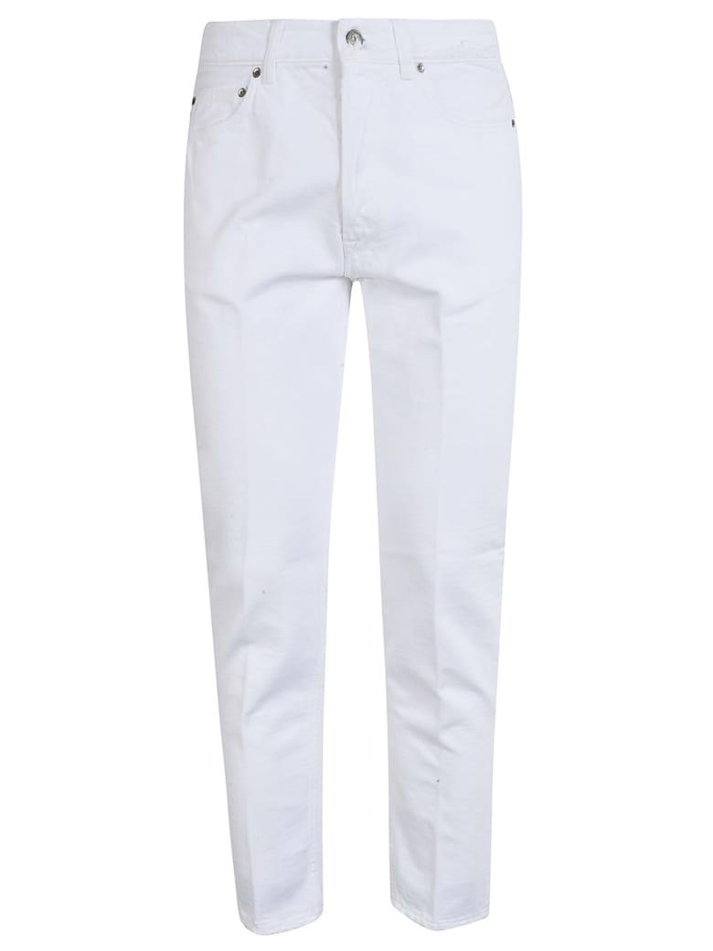 Golden Goose Happy Jeans - White