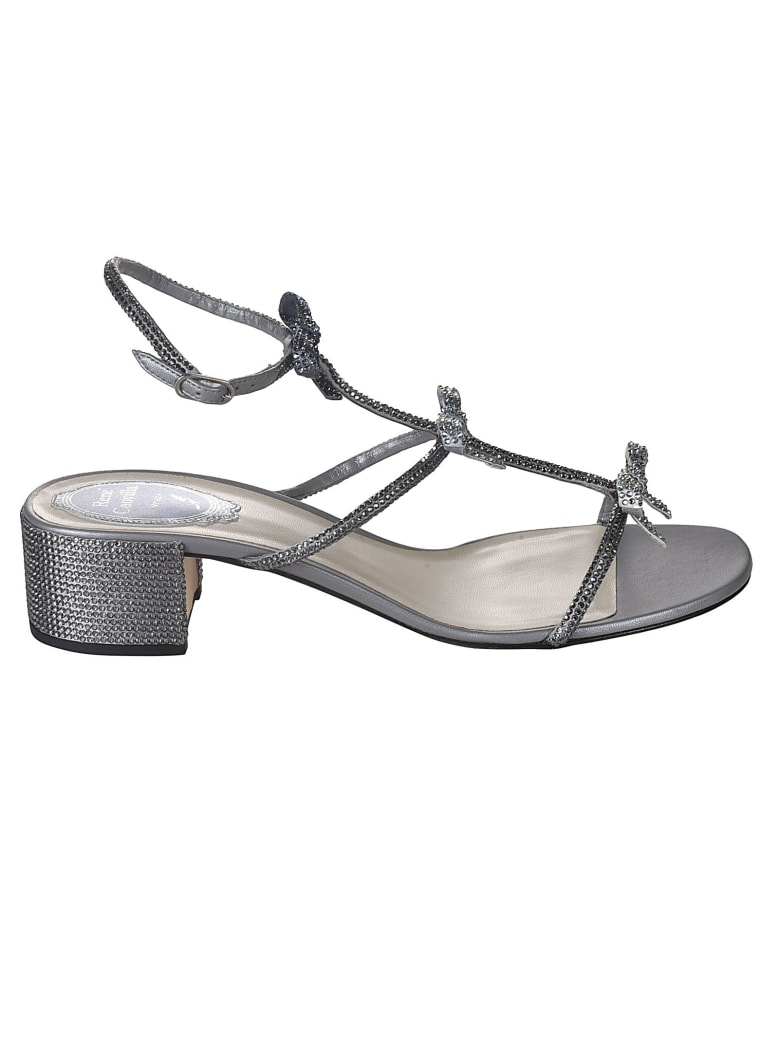 René Caovilla Caterina Sandals - Grey