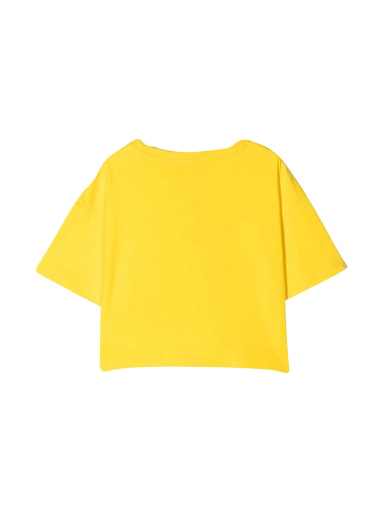 Moschino Yellow Teen T-shirt With Toy Print - Gialla