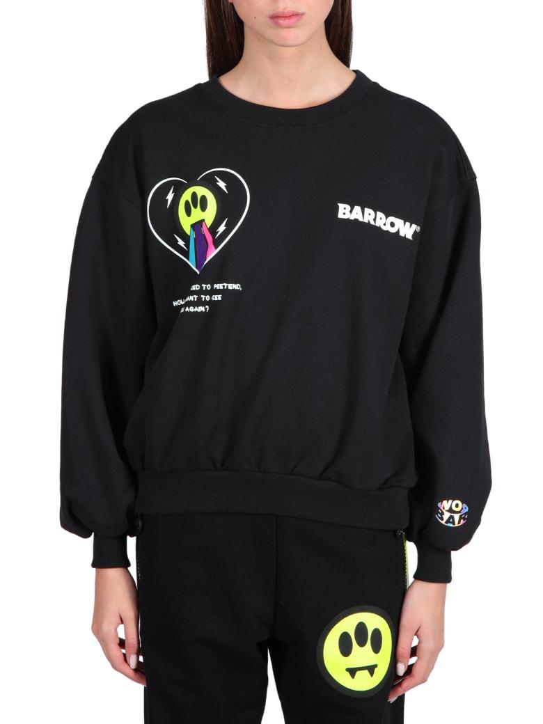 Barrow Logo Sweatshirt - Nero