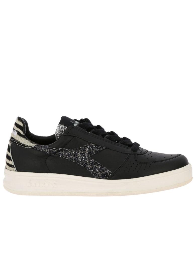 Diadora Heritage Sneakers Shoes Women Diadora Heritage - black