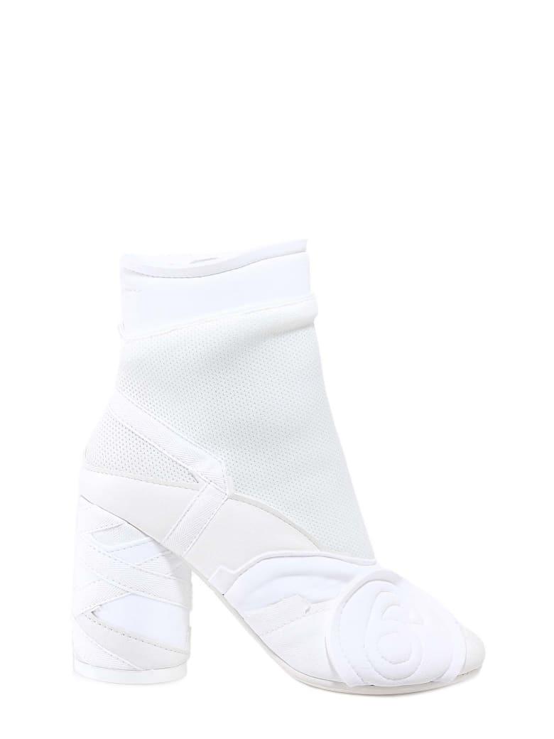 MM6 Maison Margiela Ankle Boots - White