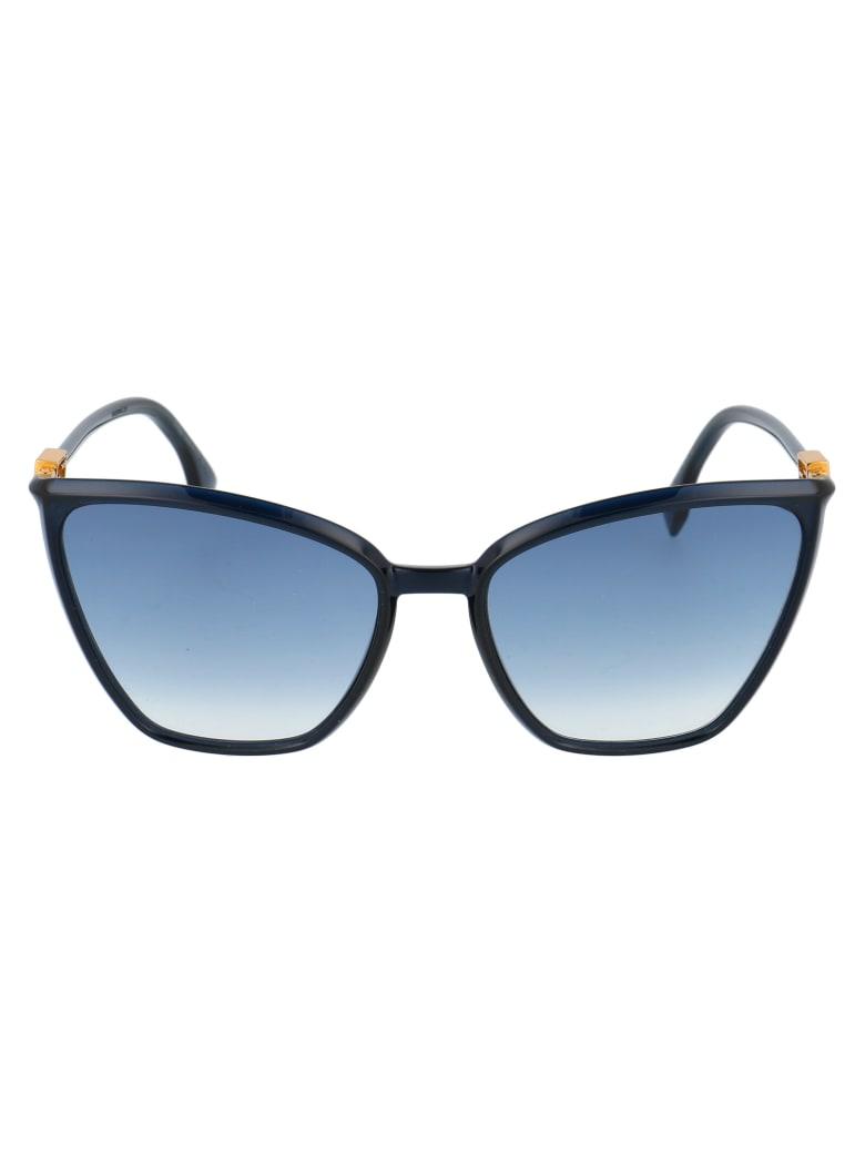 Fendi Ff 0433/g/s Sunglasses - PJP08 BLUE