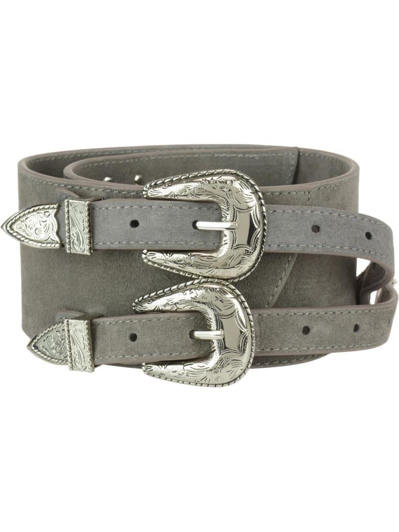 B-Low the Belt Baby Frank Corset Belt - Grey silver